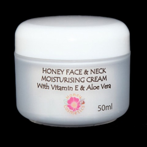 Honey Face and Neck Cream with Vitamin E & Aloe Vera