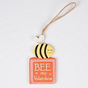 Bee My Valentine Plaque