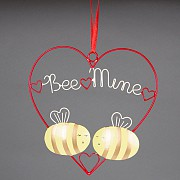 Bee Mine Wire Plaque