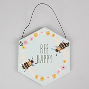 Bee Happy Plaque