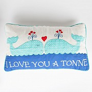 I Love You A Tonne Cushion