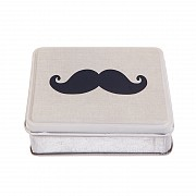Moustache Storage Tin