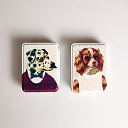 Dog Dress Up Storage Tin