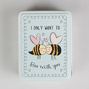 I Only Want To Bee With You Storage Tin