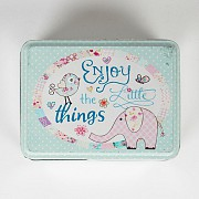 Enjoy The Little Things Storage Tin